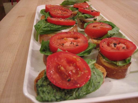 ricotta salata bruschetta