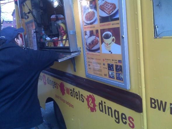Wafels & Dinges Truck