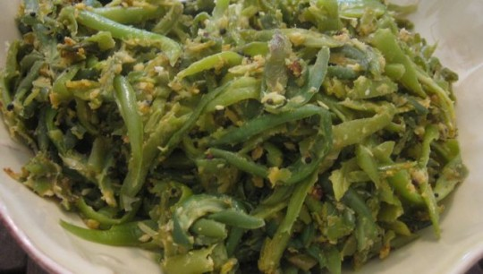 Dad's French Style Green Beans — hungry desi