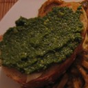 pesto-bruschetta