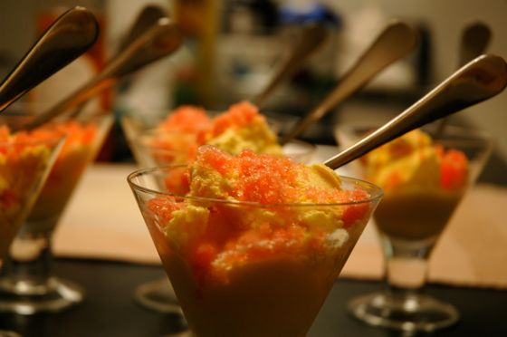 rose-water-ice-on-mango-ice-cream