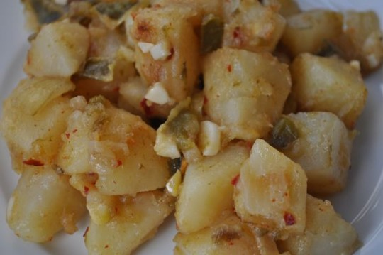 potatoes w mojo de ajo