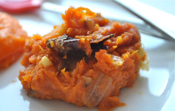 chili garlic sweet potatoes