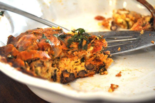 Huevos Rancheros Frittata — hungry desi